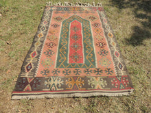 Lovely prayer kilim rug - bosphorusrugs  - 3