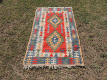 Vintage Turkish Kayseri kilim rug - bosphorusrugs  - 2
