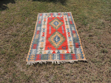 Vintage Turkish Kayseri kilim rug - bosphorusrugs  - 3