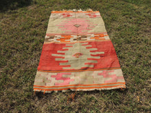 Small Boho Turkish kilim rug - bosphorusrugs  - 3