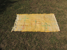 Yellow silk kilim rug - bosphorusrugs  - 3