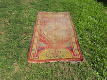 Worn small size area rug - bosphorusrugs  - 2