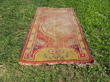 Worn small size area rug - bosphorusrugs  - 3