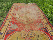 Worn small size area rug - bosphorusrugs  - 5