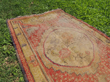 Worn small size area rug - bosphorusrugs  - 6