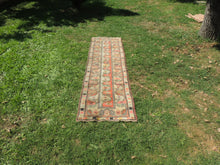 Vintage Handmade Turkish Runner Rug - bosphorusrugs  - 2