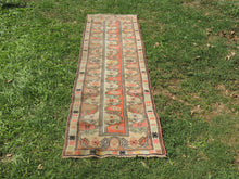 Vintage Handmade Turkish Runner Rug - bosphorusrugs  - 3