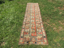 Vintage Handmade Turkish Runner Rug - bosphorusrugs  - 4