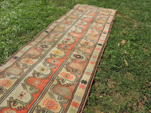 Vintage Handmade Turkish Runner Rug - bosphorusrugs  - 5