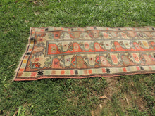 Vintage Handmade Turkish Runner Rug - bosphorusrugs  - 6