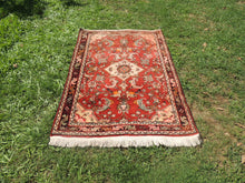 Red Persian wool carpet - bosphorusrugs  - 2