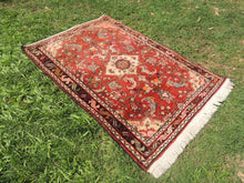 Red Persian wool carpet - bosphorusrugs  - 3