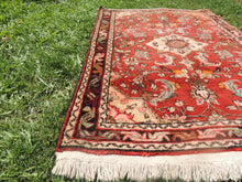 Red Persian wool carpet - bosphorusrugs  - 4