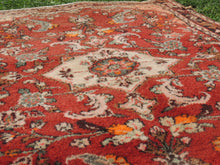 Red Persian wool carpet - bosphorusrugs  - 7