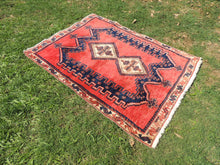 Tribal Persian area rug - bosphorusrugs  - 4