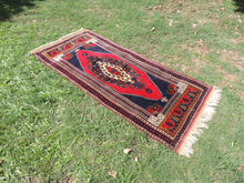 Wool Turkish tribal carpet - bosphorusrugs  - 2
