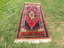 Wool Turkish tribal carpet - bosphorusrugs  - 3