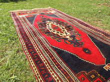 Wool Turkish tribal carpet - bosphorusrugs  - 5