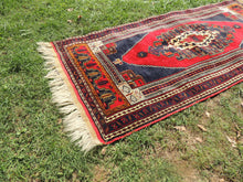 Wool Turkish tribal carpet - bosphorusrugs  - 6