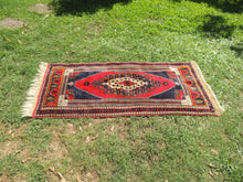 Wool Turkish tribal carpet - bosphorusrugs  - 7