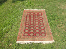 Turkish Kayseri Carpet With Bokhara Patterns - bosphorusrugs  - 3