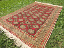 Turkish Kayseri Carpet With Bokhara Patterns - bosphorusrugs  - 6
