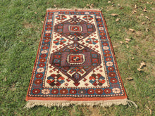 Hand Knotted Wool Turkish Area Rug - bosphorusrugs  - 2