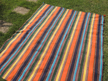Striped Nomadic Turkish Kilim Rug - bosphorusrugs  - 4