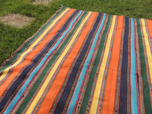 Striped Nomadic Turkish Kilim Rug - bosphorusrugs  - 6