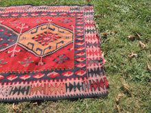 3x6 ft Kilim Rug from Turkey Flatwoven Area Rug - bosphorusrugs  - 6