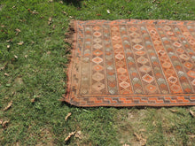 4x7 ft. Decorative Kilim Rug with Earthy Colors - bosphorusrugs  - 4