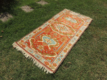 Very Rare Wool Turkish Carpet with Lovely Colors - bosphorusrugs  - 3