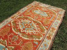 Very Rare Wool Turkish Carpet with Lovely Colors - bosphorusrugs  - 5