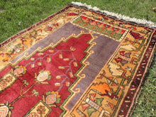 Beautiful Wool Turkish Prayer Rug - bosphorusrugs  - 4