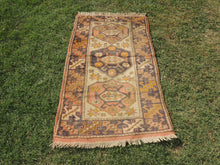 Small Turkish area rug