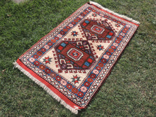 Geometric Wool Area Rug from Western Turkey - bosphorusrugs  - 3