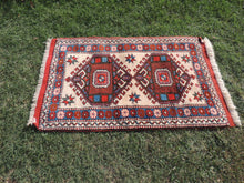 Geometric Wool Area Rug from Western Turkey - bosphorusrugs  - 4