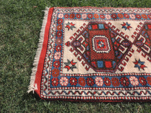 Geometric Wool Area Rug from Western Turkey - bosphorusrugs  - 5