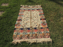Kilim Rug with Tree of Life Design - bosphorusrugs  - 2