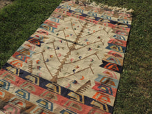 Kilim Rug with Tree of Life Design - bosphorusrugs  - 4