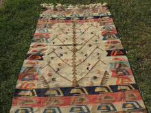 Kilim Rug with Tree of Life Design - bosphorusrugs  - 5