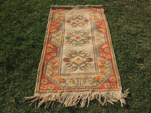 Small sized Wool Turkish Area Rug - bosphorusrugs  - 3