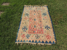 "Tribal Turkish kilim rug ""Aegean"" - bosphorusrugs  - 2"