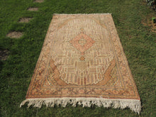 70's Decorative Turkish Area Rug