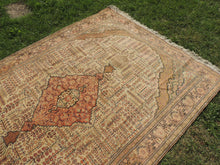 70's Decorative Turkish Area Rug with Earthy Tones - bosphorusrugs  - 4