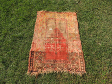 antique turkish prayer rug