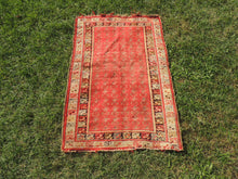 Red Turkish Area Rug ON SALE - bosphorusrugs  - 3