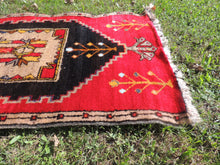 tribal vintage carpet