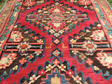 Antique Geometric Wool Turkish Area Rug - bosphorusrugs  - 5