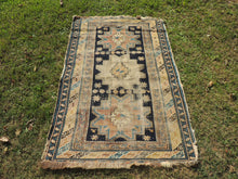 Antique Worn Caucasian Area rug - bosphorusrugs  - 2